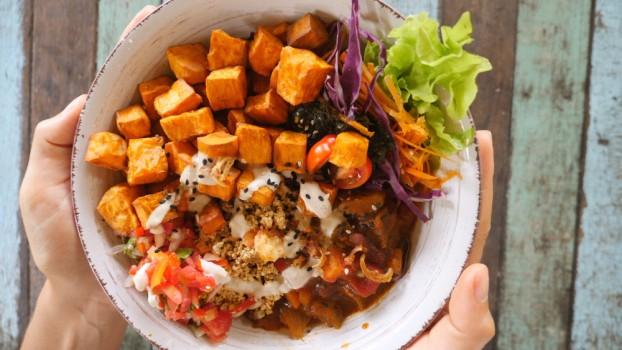 Curry de patate douce au tofu (pour 4 personnes)