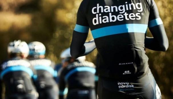 Une équipe cycliste pro composée de diabétiques