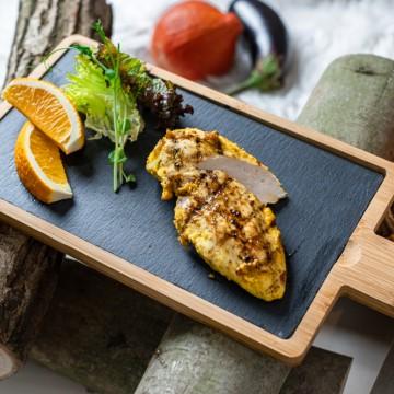 Croustillant de poulet à l'amande et à l'orange (4 personnes)